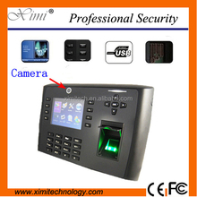 Biometric time attendance 3.5 inches TFT screen optional battery GPRS WIFI network door access controller