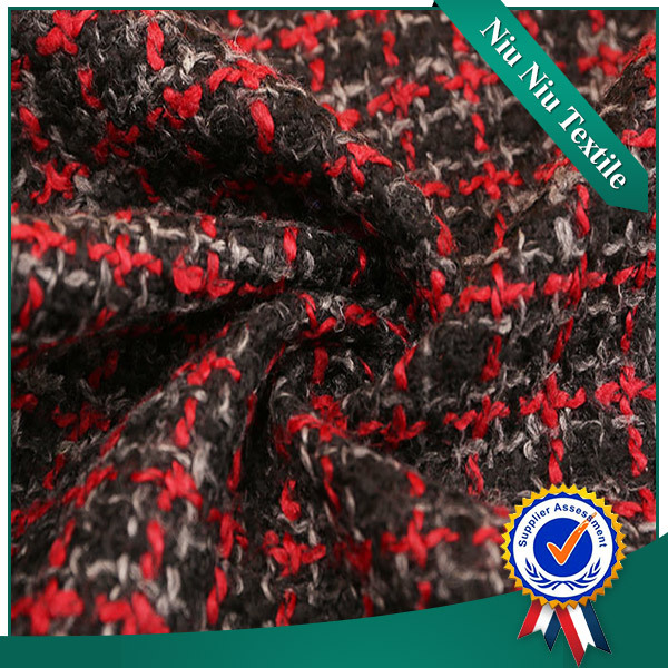 Textile fabrics supplier heavy weight yarn dye Custom Suit fabric shaoxing