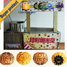 ISO / CE Quality Certification commercial food market hot air machines to produce pop corn for export