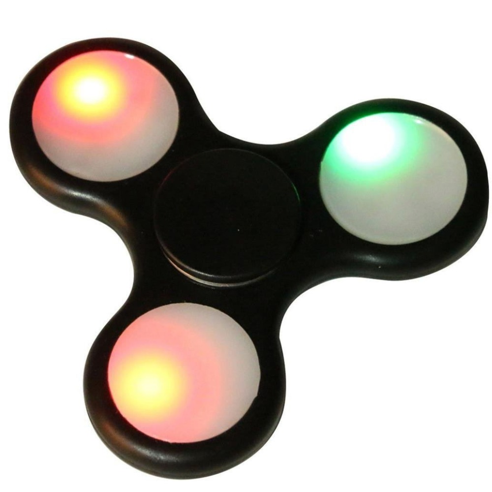 2017 new product spinner fidget toy led hand spinner for Autism ADHD Kids and Adult