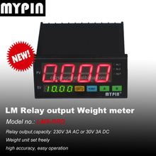 MYPIN weighing indicator, IP65, programmable weighing scale indicator and process controller for advanced weight data management