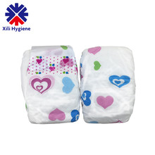 Printed Feature and Leak Guard Disposable Baby Diaper for Wholesale