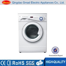 6kg White Color Compact Stainless Steel Drum Automatic Front Load China Made Washing machine
