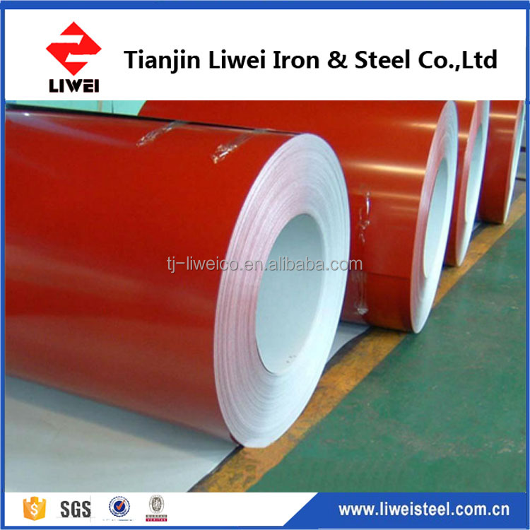 cold rolled coated color coated ppgi ral9012