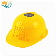 Environmental protection solar fan PE helmets safety powerless fan cap construction cap motorcycle summer safety helmet