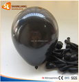 Black Color Party Balloon 7inch 1G Round Latex Balloon,, 15cm Size for Party Decoration