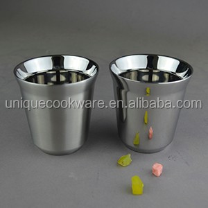 Nespresso Cups and Mugs Coffee Cup Capsules Espresso Cup Stainless Steel Coffee Mug