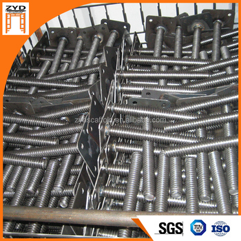 Construction Scaffolding Material Jack Base