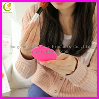 2016 new small woman travel cheapest mini fashion cheap pocket make up silicone mirror,colorful silicone folding cosmetic mirror