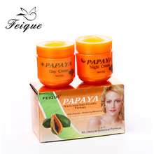 Papaya face strong whitening and freckle dark spot removing skin bleaching cream for dark skin