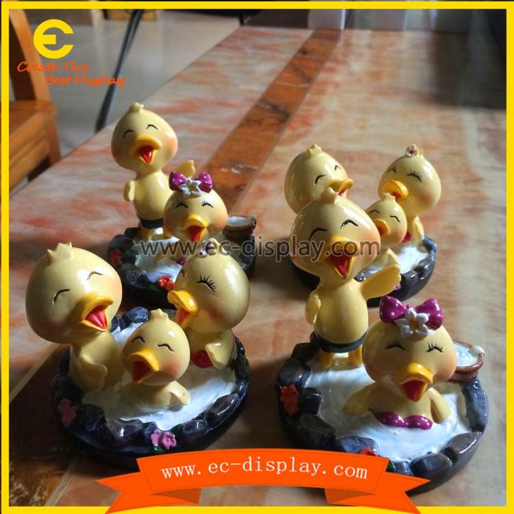 Real-like Catoon Dolls Ducks Fiberglass Animal Characters Dolls ...