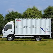 Wing opening type van truck box for sale