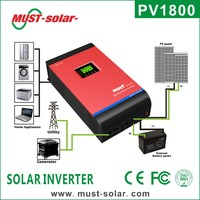 <Must Solar>solar inverter with parallel function with 50A PWM or 60A MPPT 1KW 5KW solar hybrid inverter