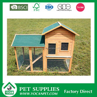 Per Houses wooden rabbit cage
