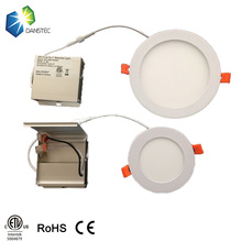 4 inch 9 watts led panel light 3000K warn white led downlight with junction box