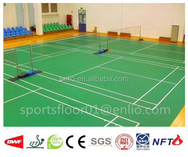 Multi-purpose PVC sports flooring used by Thailand Badminton Association