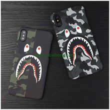 New Product Cartoon Luminous Water transfer imd matte hard pc case for iPhone X