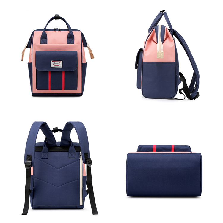 Waterproof Travel Mom Back Pack Fashion Mummy backpack Baby Changing Nappy Bag Diaper Bag
