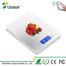 hot sale professional tempered glass precision cheap mini bluetooth nutritional fruit food digital scale for kitchen