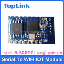low power consumption mini size ESP8266 serial to wifi module for smart home control device offer the SDK