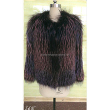 women genuine fox fur coat winter fur jacket for wholesale