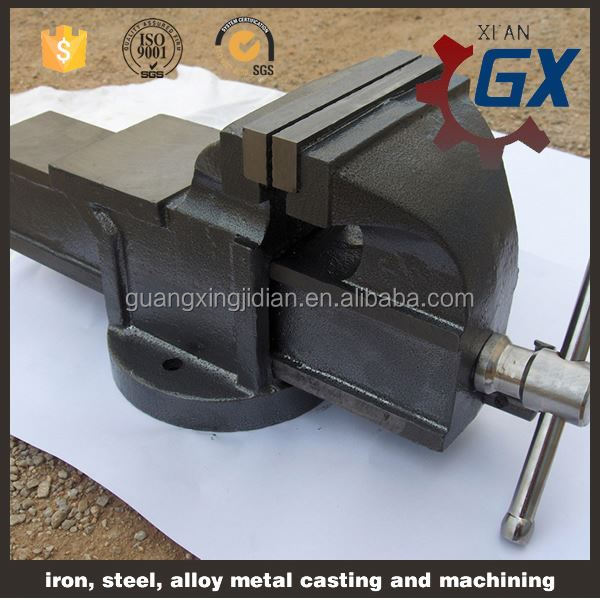 "BN 4"" Swivel Base Precision Machine Vice/Vise for Milling and Drilling work bench with bench vice"
