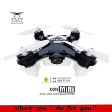 Quadcopter UFO 954D FPV Mini Drone 2.4G 4CH RC RTF 3D Flip 6-Axis Phone APP Control Quadcopter with hd Camera lights