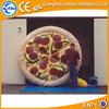 Advertising replica inflatable pizza, inflatable model price