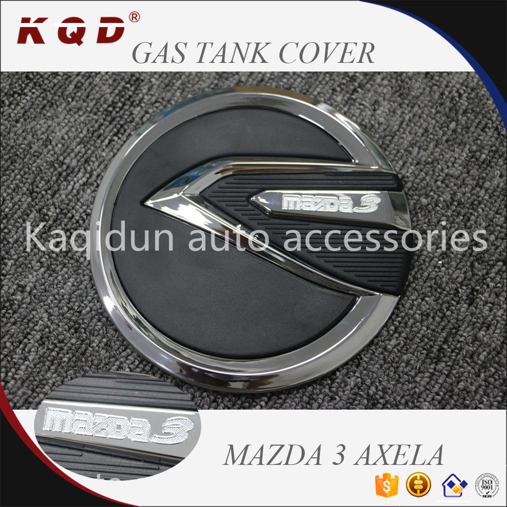 New arrival Best selling 2 colors gas tank cover for mazda 3 axela 2014~on mazda 3 axela