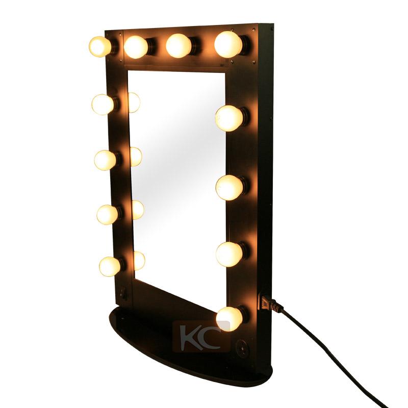 professional hollywood style makeup mirror with led light desktop metal mirror buy metal. Black Bedroom Furniture Sets. Home Design Ideas