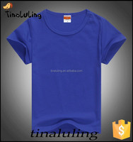 wholesale blank t shirts children summer plain t shirts for printing
