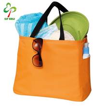 Multi-colors fashion reusable grocery shopping bags, solid candy color tote beach bag