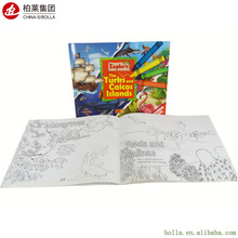 Color Print Paperback Book, Professional Cheap Child Book Printing