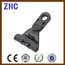 NFC Standard Anti UV Black Thermoplastic Power Aerial Fitting Hardware Insualtion Cable Suspension Clamp for LV Overhead Line