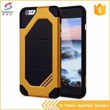 TPU PC hybrid bumblebee wholesale cell phone case for iphone 6