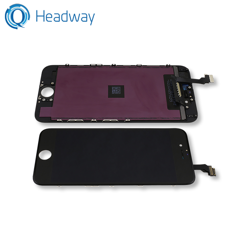 Best quality display for iphone 6 lcd lot touch screen replacement black white
