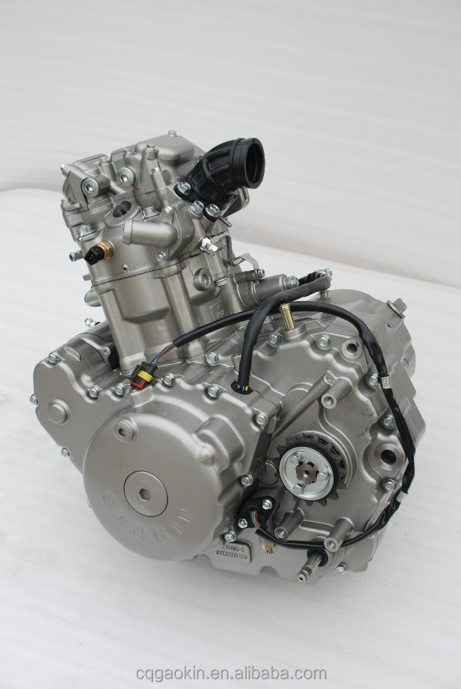 600cc 4 stroke water-cooled motorcycle engine