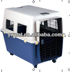 2015 wholesale newest high quality protable dog aviation aircraft cage with handle