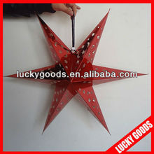folding decorations paper star