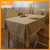 Home Furnishing muliti use fancy table cloth for rectangular table