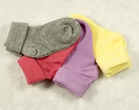 Triple Roll Ankle Socks for Baby