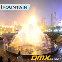 Wholesale China Factory Hotel Led Light 3 Tier Fountain