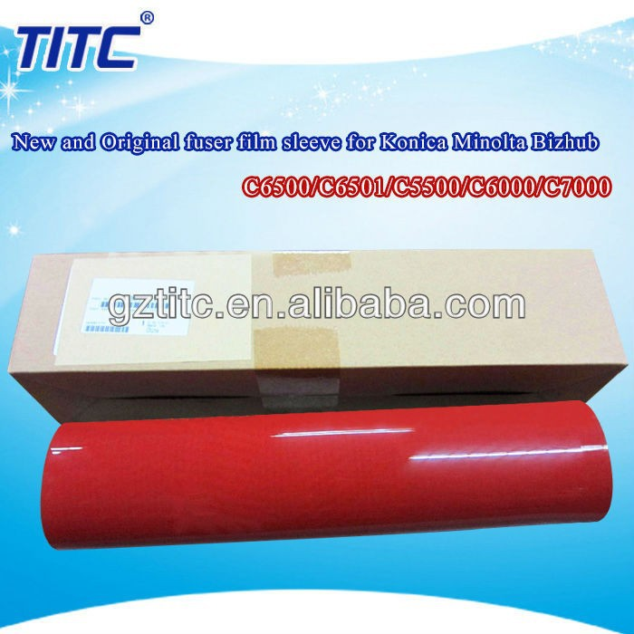 Perfect Quality fuser film sleeve for Konica Minolta Bizhub Pro C6500