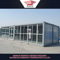 Environmental Friendly Fast Building Mobile Prefab Container Store