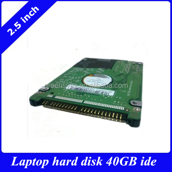 2.5 inch laptop internal HDD IDE 40GB/PATA hard disk drive for old laptops