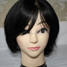 Wholesale Full Lace Wig for Men 100% Human Remy Hair Full Cap for Bald Men Front with Silk Top