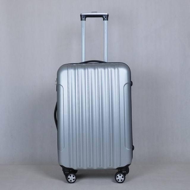 waterproof ABS luggage durable abs trolley luggage wheeled suitcase