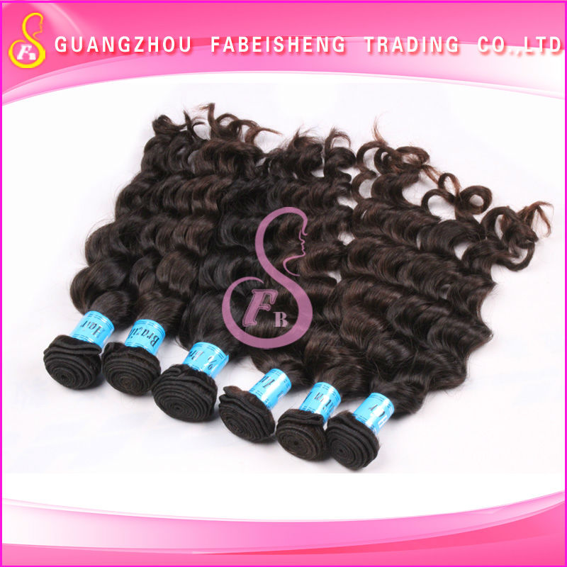Wholesale good products brazilian loose wave guangzhou fabeisheng hair products firm