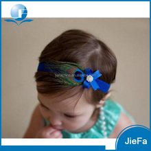 Wholesale beautiful feather infant baby headbands