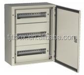 TIBOX Wall Mount Distribution Box Electrical Control Panel Single Door Metal Cabinet